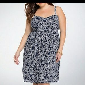 TORRID Paisley pattern dress